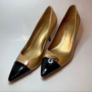 Coach heels shoes